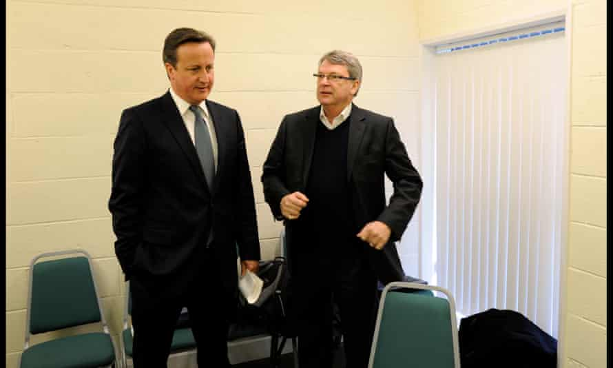 David Cameron and Crosby
