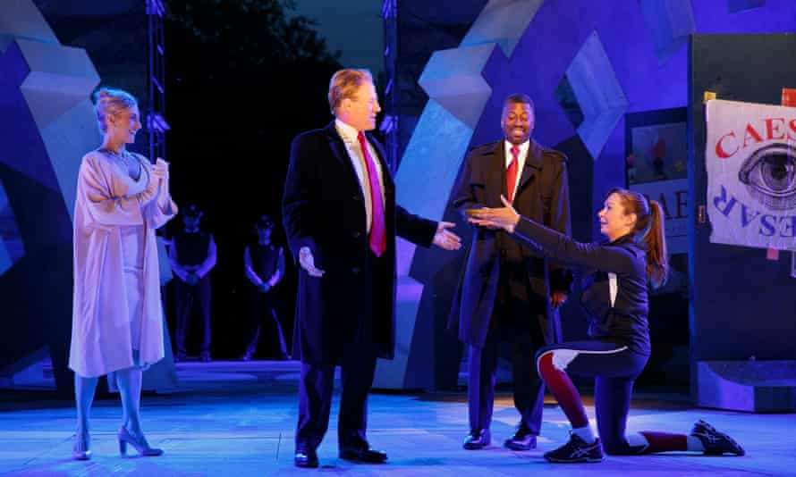 'Intended to provoke and offend …' The Public Theater's production of Julius Caesar.