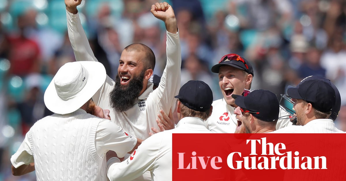 90f7cd4b22f England v South Africa  Moeen hat-trick seals 239-run win in third Test –  as it happened