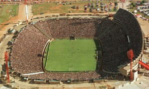 A packed FNB Stadium in Johannesburg for the Africa Cup of Nations final.