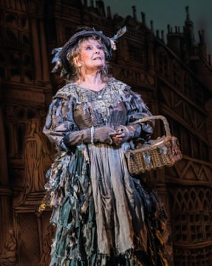 Petula Clark as the Bird Woman in Mary Poppins.