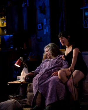 Noni Hazlehurst and Yael Stonein Sydney Theatre Company's The Beauty Queen of Leenane in 2019.