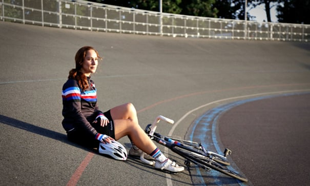 'I feel protected in the velodrome': how track cycling helped ease my anxiety