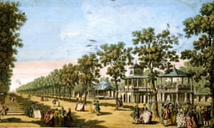 Vauxhall Gardens, 1751: variety acts drew forth 'such great astonishment and delight'.