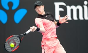 Kyle Edmund took nearly four hours to beat Kevin Anderson on Showcourt 3.