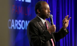 Ben Carson. A $31,000 dining set was purchased for housing secretary Carson's office.