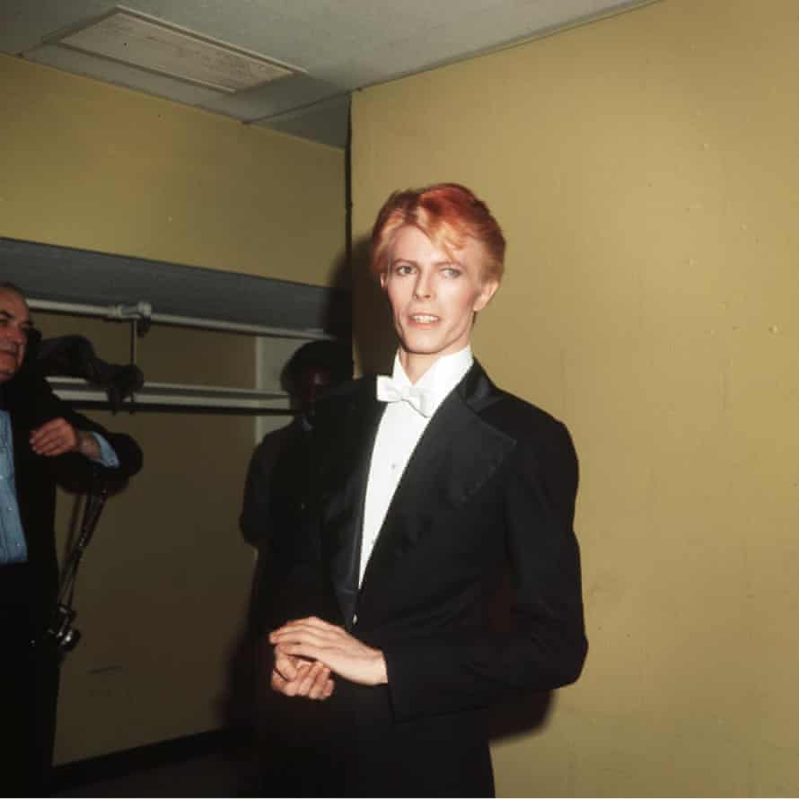 Bowie in 1975.
