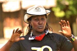 Nkamunu Patita, programme coordinator at the Wildlife Foundation.