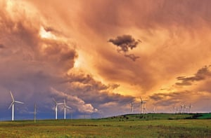OctoberChanging skies above Capital windfarm near Bungendore, NSW