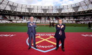 David Gold and David Sullivan appointed Manuel Pellegrini in the summer and also spent £36m on Felipe Anderson.
