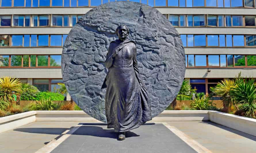 A statue of Mary Seacole at St Thomas' hospital in London, unveiled in 2016