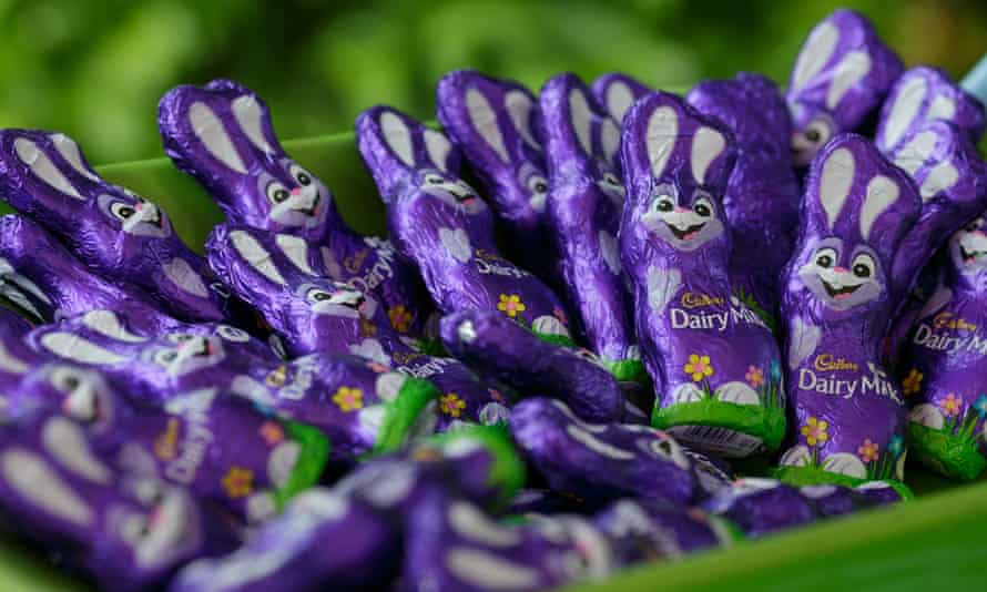 Cadbury chocolate sold at Easter