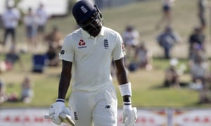 England's Jofra Archer says he was racially abused by a fan after he was dismissed on the final day in the Test against New Zealand.