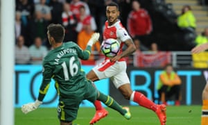 Theo Walcott is often criticised by Arsenal fans but shone in the 4-1 win at Hull.