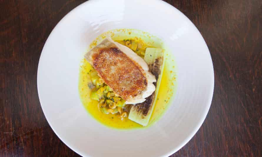 'Aspirational pub territory': cod with brown shrimp butter.