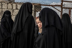 Second prize, general news, singles | Russian Mother and her Child at Al-Hol Refugee Camp | Alessio Mamo, Italy