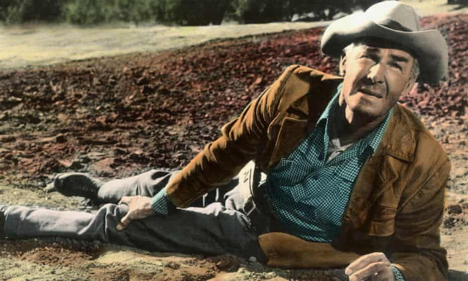 Randolph Scott in Ride the High Country.