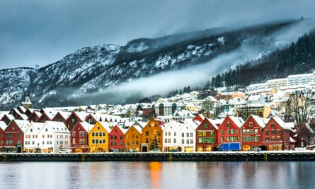 Bergen is more charming than the capital, Oslo.