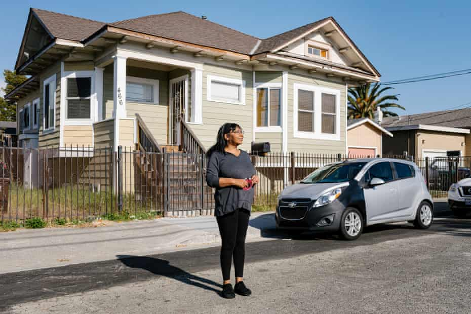 Denise Briggs, of Richmond, California, is being evicted despite the pandemic.