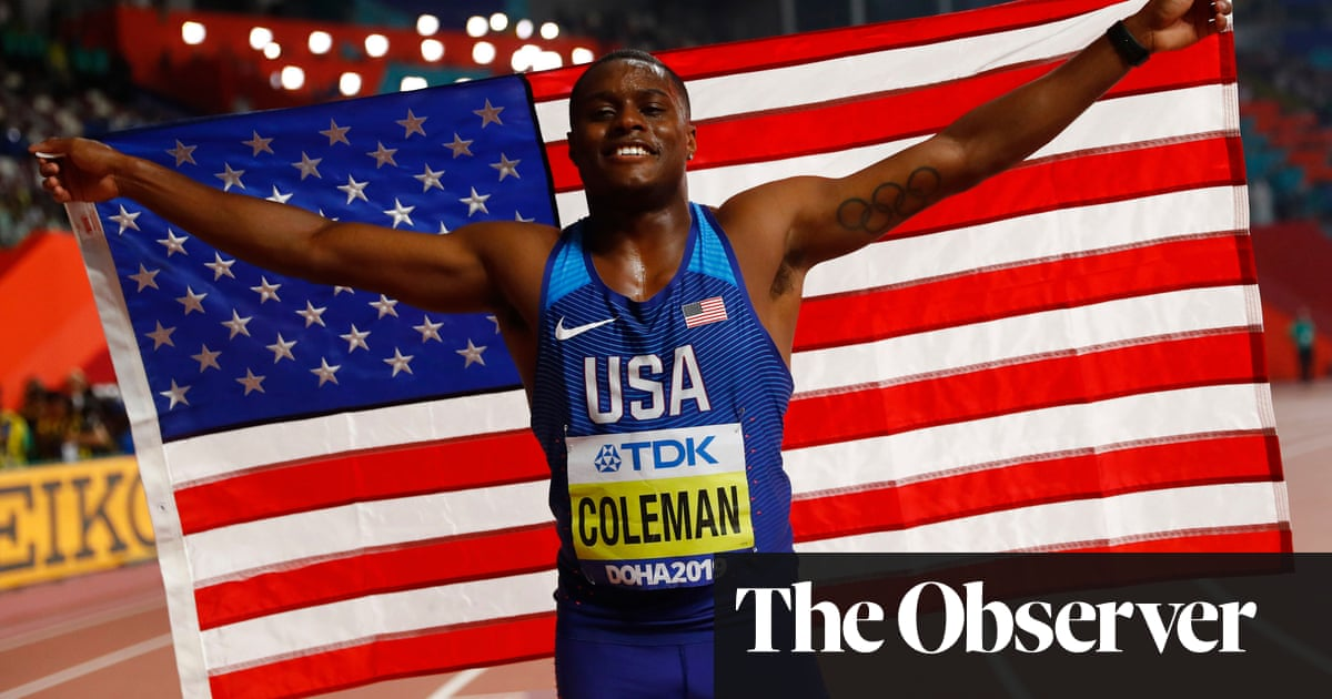 Christian Coleman wins men's 100m gold at World Athletics Championships