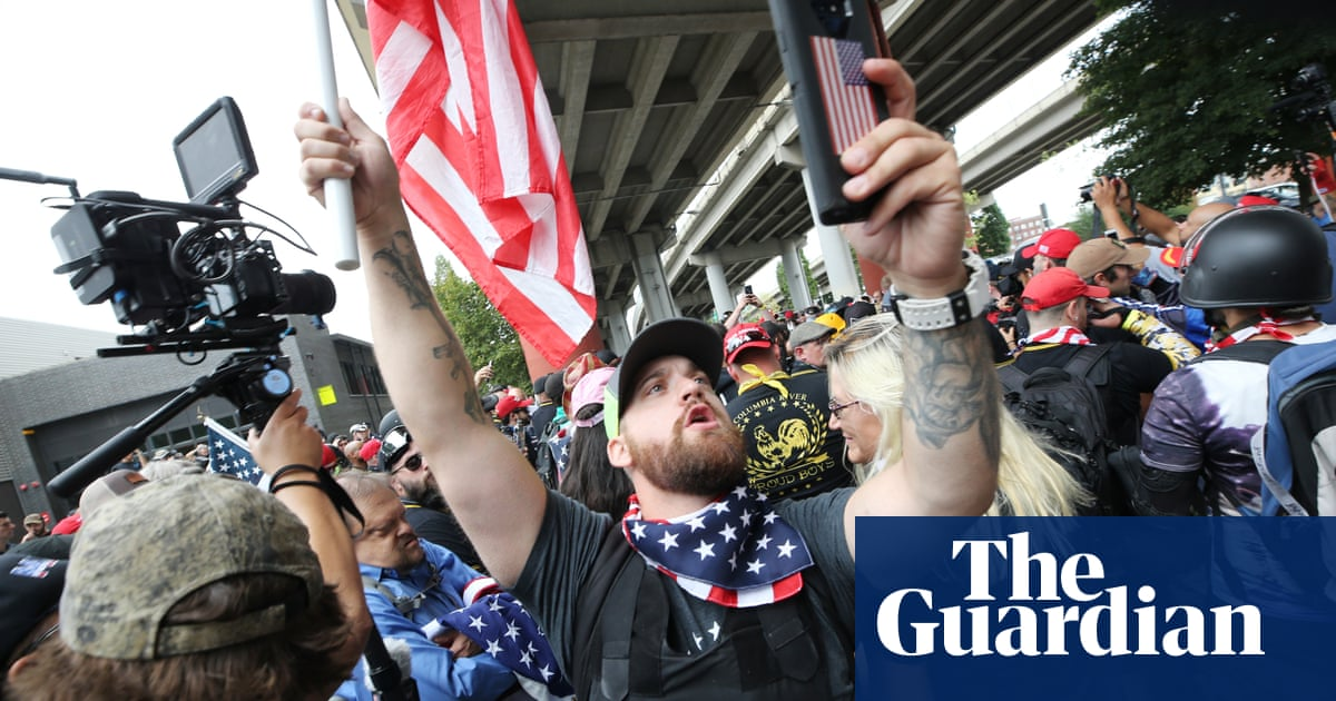 Portland rally: Proud Boys vow to march each month after biggest protest of Trump era