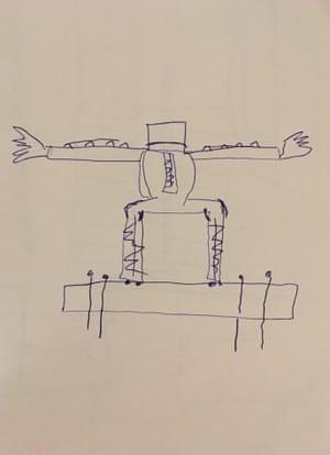 Kairat Samarkand's depiction of 'iron clothes'.