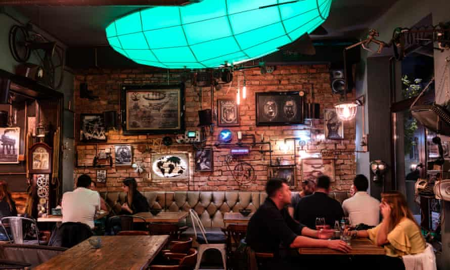 Joben Bistro, a steampunk bar and restaurant in Cluj Napoca