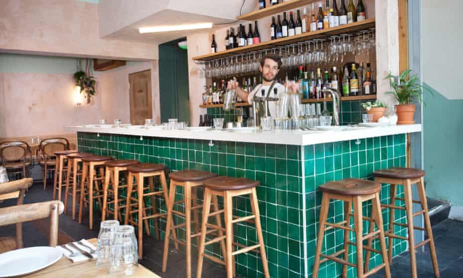 Br at Bubala restaurant on Commercial Street, Spitalfields.