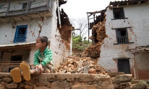 Every home in Barkobot, Sindhupalchowk district, has been either severely damaged or completely destroyed, but villagers claim they have yet to receive any government aid, despite being only an hour and a half drive from the capital, Kathmandu.