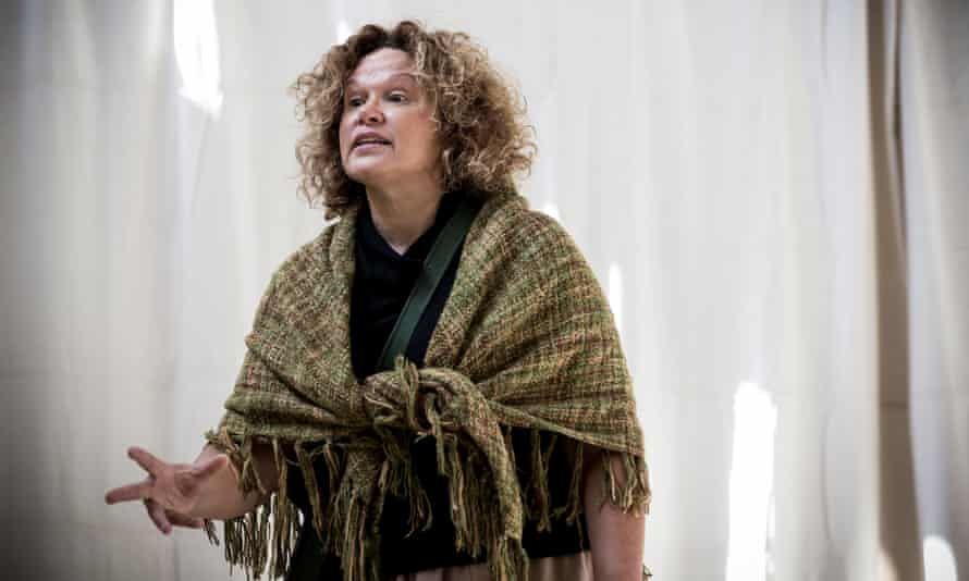 Leah Purcell in The Drover's Wife, her adaptation of the short story by Henry Lawson