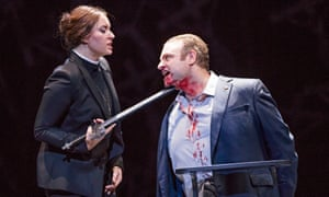 An examination of the relationship between desire and fundamentalism... Sonya Yoncheva as Norma and Joseph Calleja as Pollione in Bellini's Norma at the Royal Opera House.