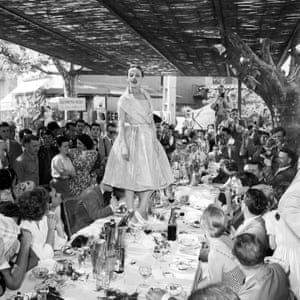 Jeanne Moreau at the Cannes Film Festival in May 1958