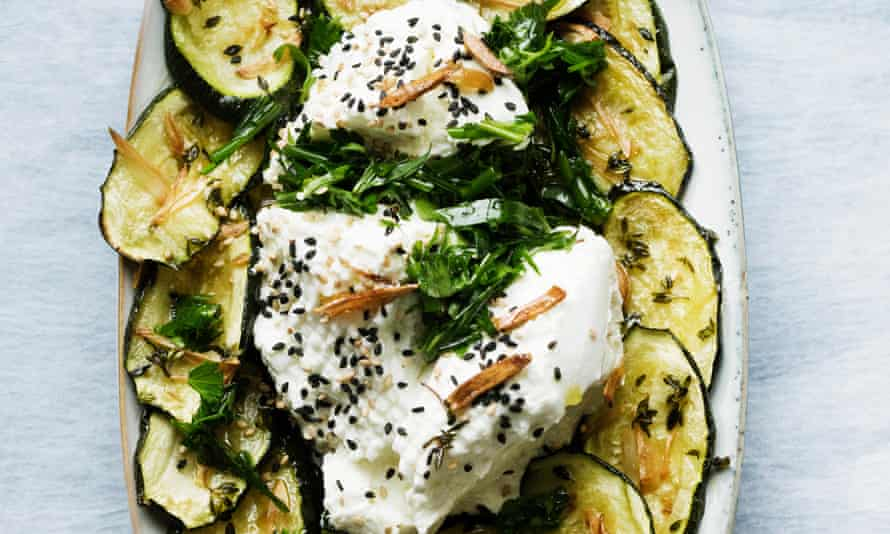 OFM Nigel Labneh Courgettes
