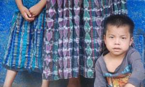 An Q'eqchi' boy in one of the four communities neighbouring Semuc Champey where division is rife over access to and management of the protected area.