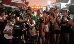 Manila residents react to the killings of three alleged drug dealers in a 2016 police raid.