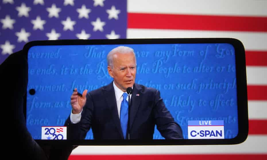 Biden attempted to mend potential political damage after the debate when he told reporters he wanted to end subsidies for fossil fuels rather than the industry itself.