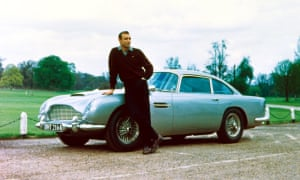 Sean Connery as James Bond in Goldfinger.