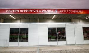 A general view of the Atléti Femenino training base