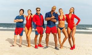 Beachin … the cast of Baywatch.