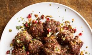 Merguez Pistachio Balls December 2018 Nigel Slater OFM Observer Food Monthly