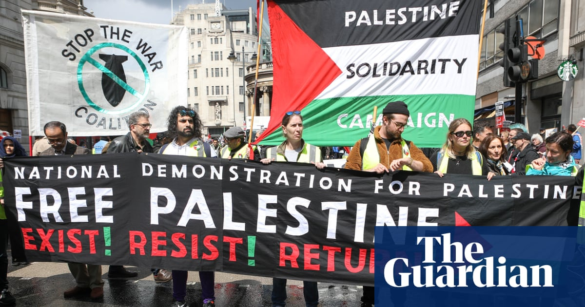 Freedom of expression on Palestine is being suppressed | Letter