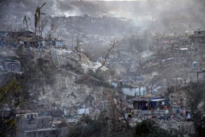 Hurricane Matthew ripped through the city of Jérémie in Haiti, devastating its infrastructure