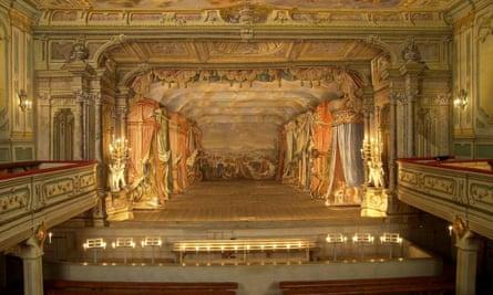Castle Theatre, Cesky Krumlov