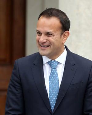 Leo Varadkar, Ireland's taoiseach, is keen to capitalise on the fallout from the City
