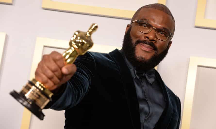 Refusing hate … Tyler Perry.