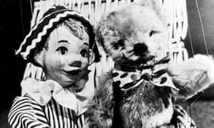 Andy Pandy with Teddy.