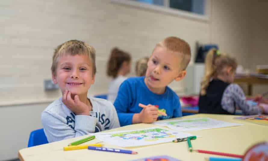 Pupils at Polish Saturday school in Ely