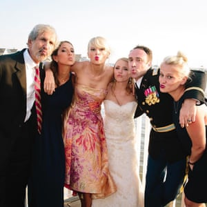 Taylor Swift crashes the wedding of Max Singer and Kenya Smith.
