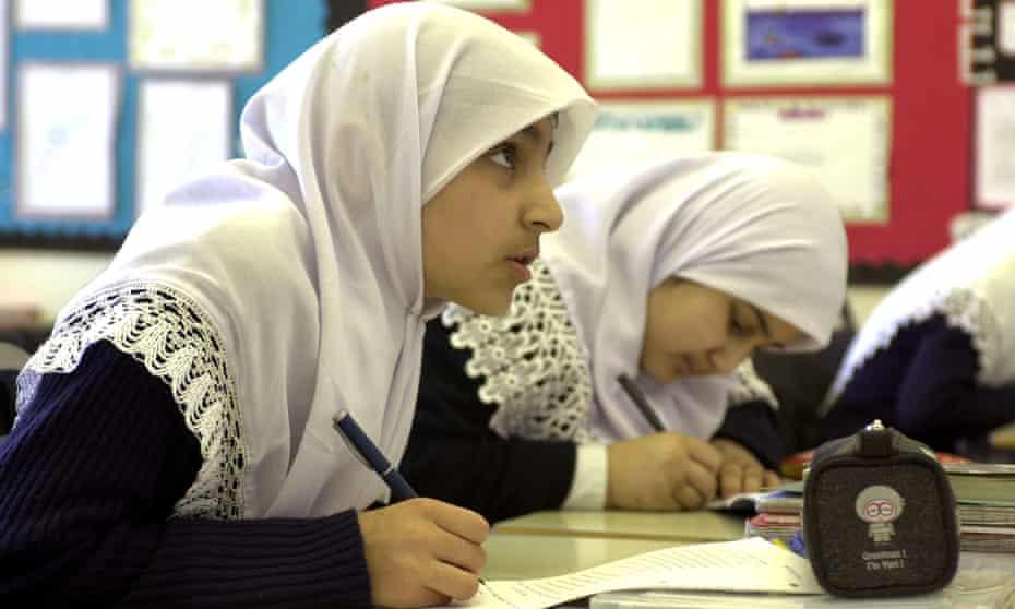 Muslim students in Birmingham