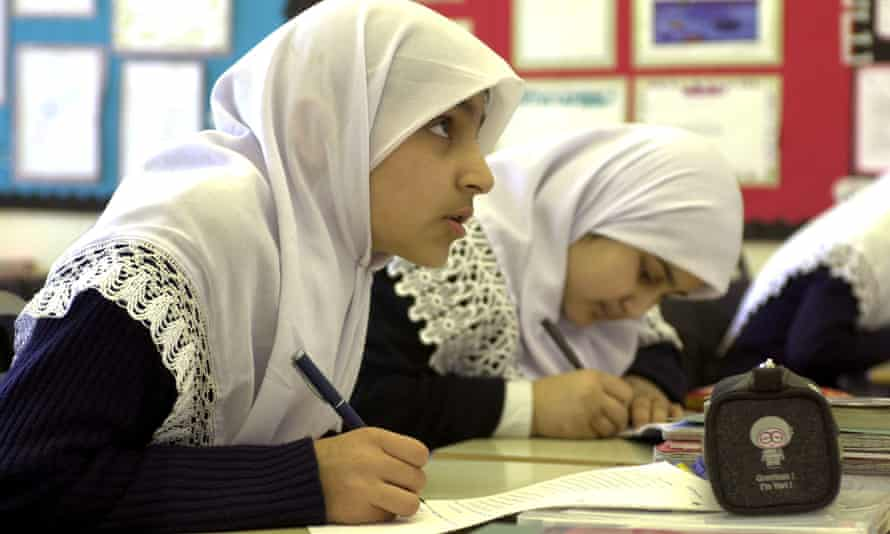 The Al Hijrag Muslim faith school in Birmingham.